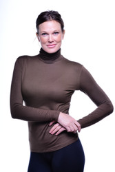 Turtleneck, Long Sleeve, Java - Size Small and Medium only