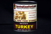 Canned Turkey Food Storage - 28oz
