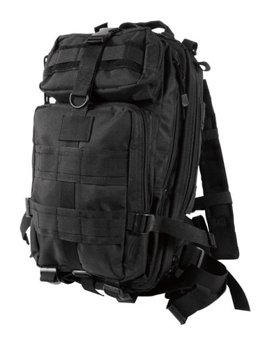 Black Medium Transport Back Pack