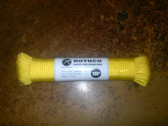 100 FT. NYLON PARACORD - YELLOW