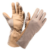 G.I. TYPE NOMEX FLIGHT GLOVE - SAND