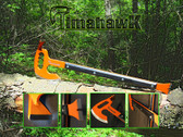Timahawk has several uses including a hoe, axe, breaching tool and handle.