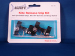 2 Clip  Kite Release Clip Kit - Kite Fishing