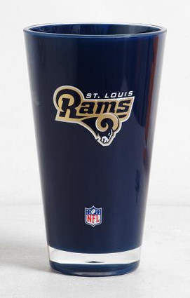 St Louis Rams NFL Insulated Tumbler Glass Cup