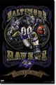 Baltimore Ravens NFL Monster Wall Poster