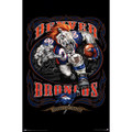 Denver Broncos NFL Monster Wall Poster