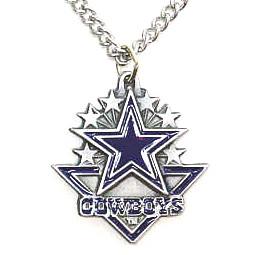 Dallas cowboys nfl 3d arrow necklace dragon sports dallas cowboys nfl 3d arrow necklace aloadofball Images