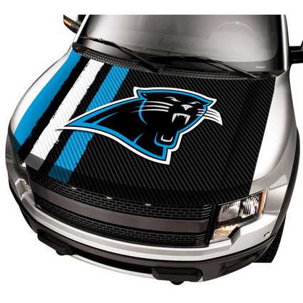 Carolina Panthers NFL Automobile Hood Cover