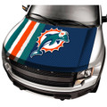 Miami Dolphins NFL Automobile Hood Cover