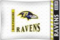 Baltimore Ravens NFL Jersey Stripe Microfiber Pillow Case