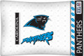 Carolina Panthers NFL Jersey Stripe Microfiber Pillow Case