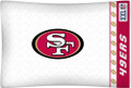 San Francisco 49ers NFL Jersey Stripe Microfiber Pillow Case