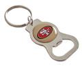 San Francisco 49ers NFL Metal Bottle Opener Key Chain - Gold