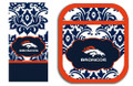 Denver Broncos NFL Pot Holder and Kitchen Towel Set