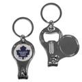 Toronto Maple Leafs NHL Metal Multi Purpose Key Chain Ring
