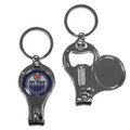 Edmonton Oilers NHL Metal Multi Purpose Key Chain Ring