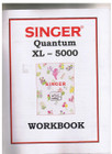 Singer Quantum XL-5000 Workbook w/plastic cover