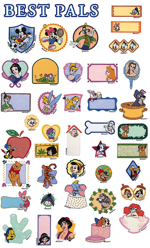 Disney Embroidery Cards Brother Brother Embroidery Card Disney