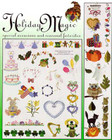 Singer Embroidery Card No. VII Holiday Magic