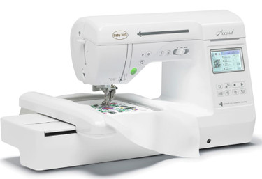 Description If you want to step up your creativity to include embroidery,the new Baby Lock Accord fits the bill. This machine will suit your sensibility for creating even more elegant projects with embroidery. It delivers all the features you need: 141 built-in designs, 250 built-in stitches, advanced thread cutter, Quick-set bobbin and more. Move your sewing projects to the next level with Accord!