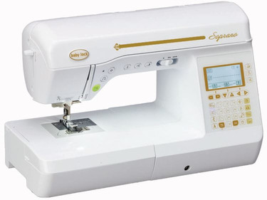 Being a self-taught quilter, I need a machine that lets me hit the high notes with ease. The Baby Lock Soprano does exactly that. It's easy to get started with the advanced needle threader and quick-set, top-loading bobbin. I'm all set to quilt in no time.