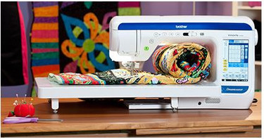 For those who dream of a machine that's built to quilt and sew