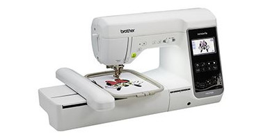 Combination Sewing and Embroidery
