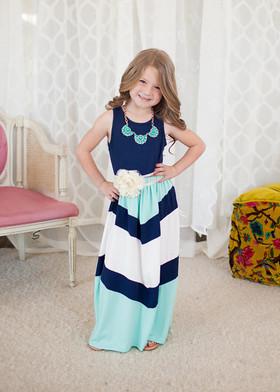 Girls Pretty Girl Maxi Blue
