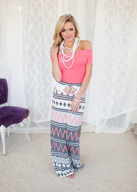 Mommy Neon Jolt Maxi Skirt