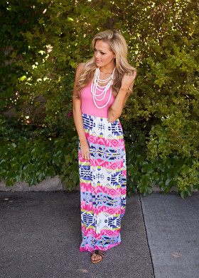 Mommy Girly Maxi Pink CLEARANCE