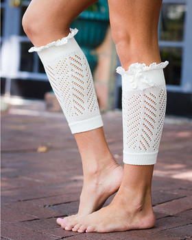Mommy Ivory Boot Cuff