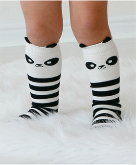 Girls Panda Socks