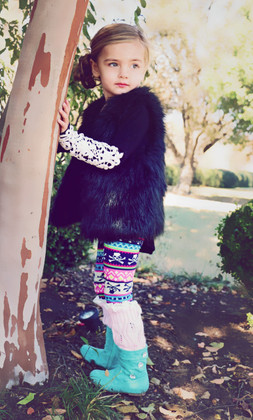 Girls Pink Leg Warmers CLEARANCE