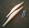 Niddy Noddy Sloped End Pieces