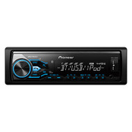 PIONEER MVH-X385BT SINGLE DIN MULTIMEDIA RECEIVER W/ BLUETOOTH AND USB SMARTPHONE DIRECT CONTROL