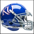 Kansas Jayhawks Authentic Schutt XP Football Helmet