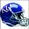 Kansas Jayhawks Full XP Replica Football Helmet Schutt
