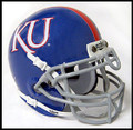 Kansas Jayhawks Mini Authentic Schutt Helmet