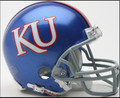 Kansas Jayhawks Mini Replica Helmet