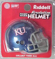 Kansas Jayhawks NCAA Pocket Pro Single Football Helmet