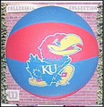 Kansas Jayhawks NCAA Wilson Basketball