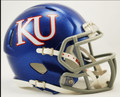 Kansas Jayhawks Riddell NCAA Mini Speed Football Helmet