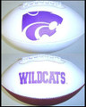 Kansas State Wildcats Full Size Signature Embroidered Football