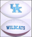 Kentucky Wildcats Full Size Signature Embroidered Series Football