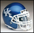 Kentucky Wildcats Mini Authentic Schutt Helmet