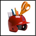 Los Angeles Angels Mini Helmet Desk Caddy