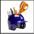 Los Angeles Dodgers Mini Helmet Desk Caddy
