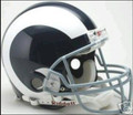Los Angeles Rams 1965-72 Throwback Full Size Authentic Helmet
