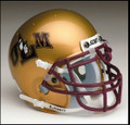 Louisville-Monroe Warhawks Mini Authentic Schutt Helmet