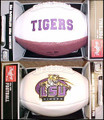 LSU Louisiana State Tigers Full Size Signature Embroidered Football